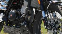Blick auf den Motor der F. B Mondial HPS 3001 ABS