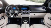 Cockpit eines Mercedes B-Klasse