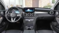 Cockpit eines Mercedes C-Klasse