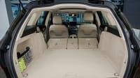 Kofferraum eines Mercedes C-Klasse