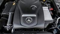 Motor eines Mercedes C-Klasse