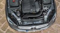 Motor eines Mercedes GLC