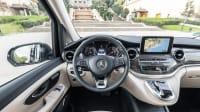 Cockpit eines Mercedes V-Klasse