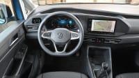 Cockpit des VW Caddy