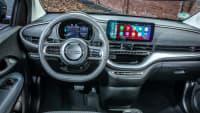 Cockpit des Fiat 500e