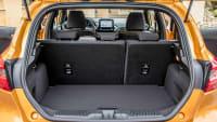 Kofferraum eines Ford Fiesta Active