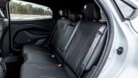 Rückbank eines Ford Mustang Mach-E
