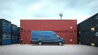 Ford Transit Kastenwagen Seitenansicht stehend