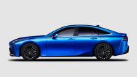 Seitenansicht des Toyota Mirai der 2. Generation