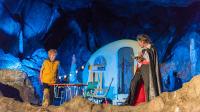 Aufführun der kleine Vampir in der Rübeländer Tropfsteinhöhle