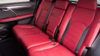 Die Rückbank eines Lexus RX 450h