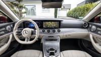 Mercedes E-Klasse Cabrio Cockpit