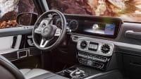 der Innenraum der neuen Mercedes G-Klasse
