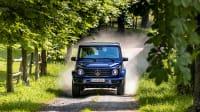 Die neue Mercedes G-Klasse  2019 in Fahrt