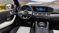 Blick in den Innenraum des Mercedes GLE Coupé