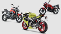 Voge 300 R, Aprilia RS 660, Honda CB125F