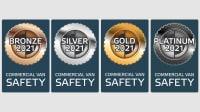Bronze Silber Gold Labels 2021 von Euro NCAP