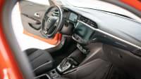 Cockpit und Innenraum des Opel Corsa Elektro