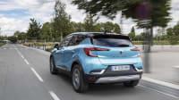 Renault Captur E-Tech Plug-In Hybrid in Fahrt
