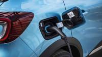 Tankdeckel des neuen Renault Captur E-Tech Plug-In Hybrid
