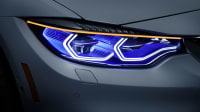 Close ups der BMW M4 Concept Iconic Lights