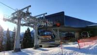 Neuer Sesselllift im Skigebiet