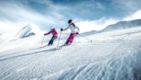 Skifahren im Gletscherskigebiet Kitzsteinhorn