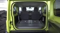 Laderaum des Suzuki Jimny