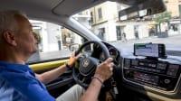 VW e-Up Cockpit