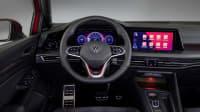 Das Cockpit vom Golf GTI