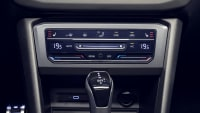 Display von Lüftung und Heizung vom VW Tiguan
