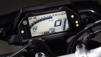 Digitale Anzeige am Lenker einer Yamaha MT-10