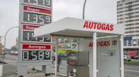Eine LPG Autogastankstelle in Berlin