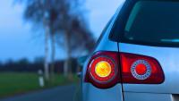 VW Passat blinkt