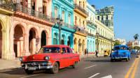 Mit dem Oldtimer durch Havanna fahren