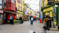 Fußgängerzone in der Kulturhauptstadt Galway
