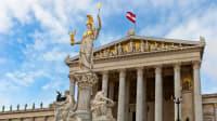 Österreichisches Parlament in Wien