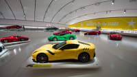 Eine Übersicht im Enzo Ferrari Museum