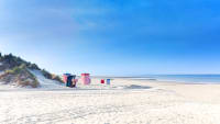 Strand auf Borkum