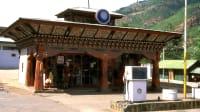 Tankstelle in Thimphu Bhutan