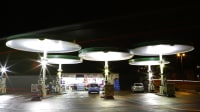 Red Hill Filling Station in Leicester
