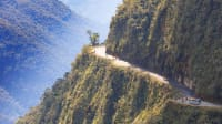 North Yungas Road in Bolivien