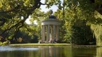 Der Apollotempel im Nymphenburger Schlosspark