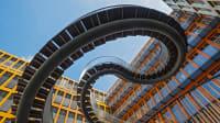 Die endlose Treppe in München