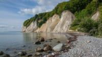 Kreidefelsen auf Rügen am Meer