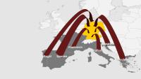 Die Europäischen Länder, Portugal,Spanien, Frankreich, Italien, Kroatien, Griechenland,aus denen Deutsche Urlauber nach Hause gebracht werden