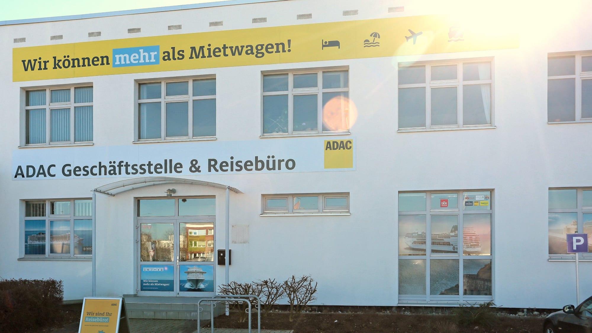 Außenansicht ADAC Geschäftsstelle & Reisebüro Rostock