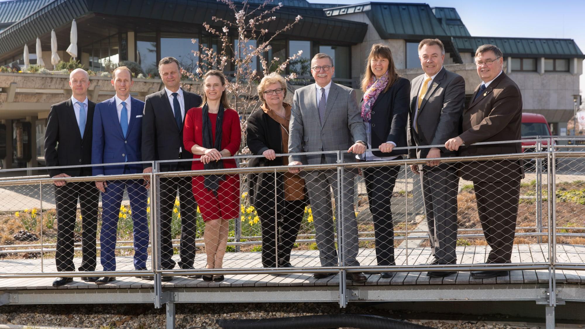 Vorstand und Geschäftsführung des ADAC Württemberg