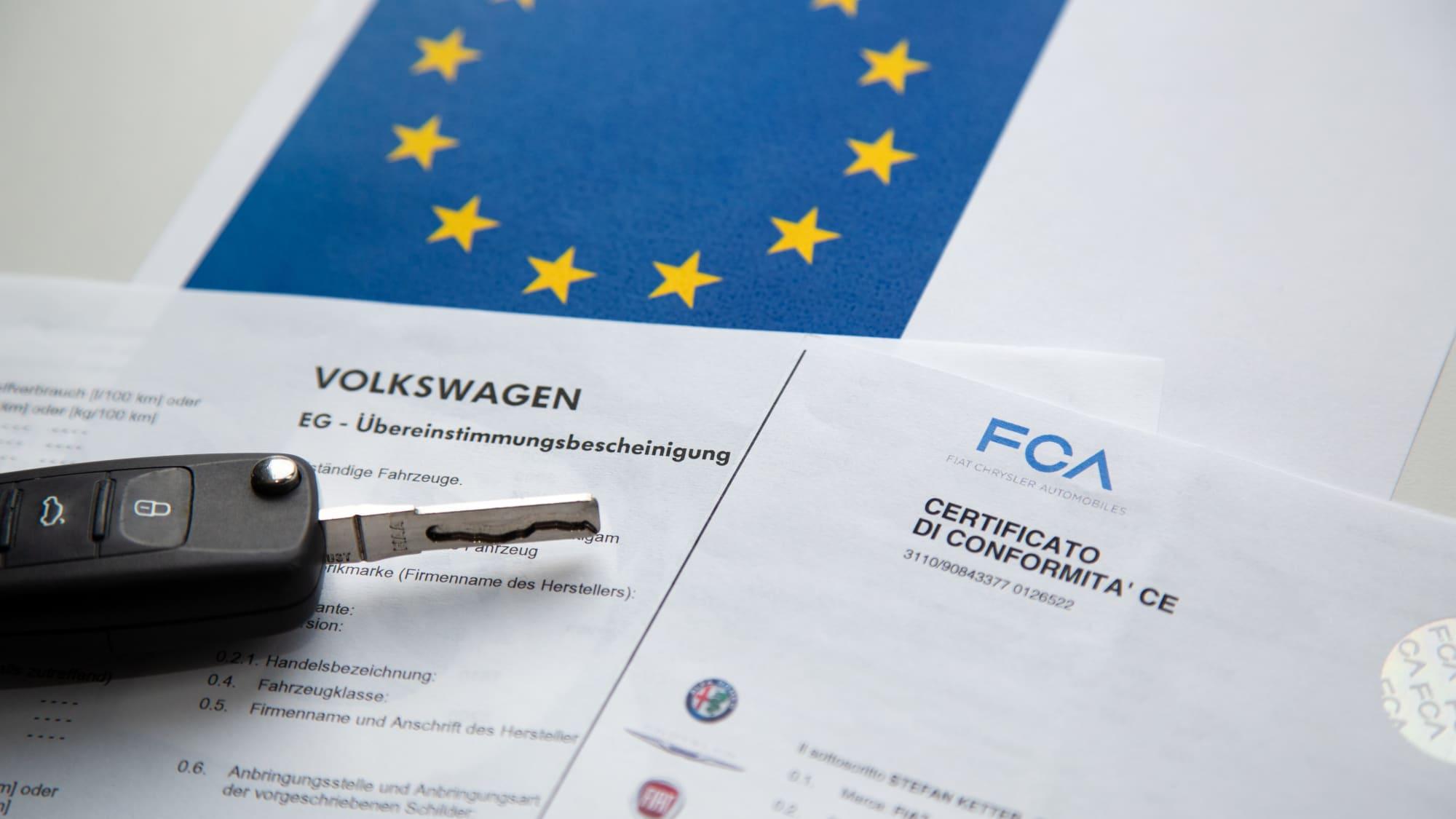 Die CoC-Papiere werden für den Import von Fahrzeugen sowie den Autoverkauf von Deutschland ins EU-Ausland benötigt.
