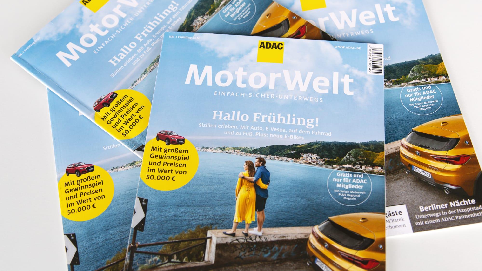 ADAC Motorwelt Clubmagazine Nr 01 2020